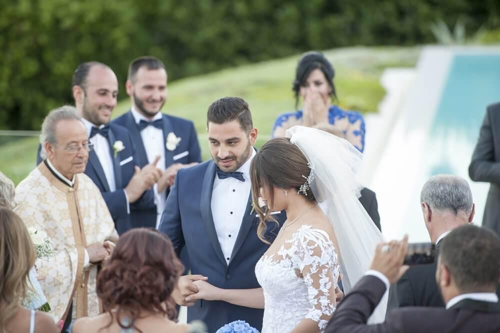 Lebanese Orthodox wedding in Greece