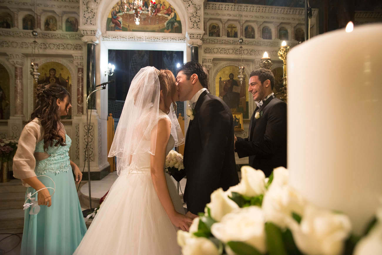 Lebanese, Orthodox wedding at Athens, Greece