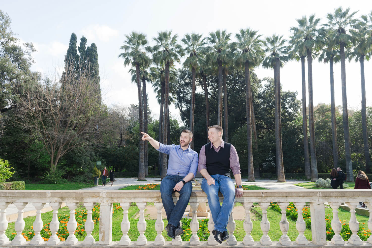 A gay honeymoon photoshoot in Athens, Greece