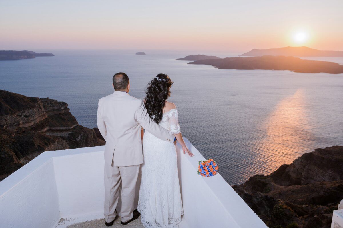 santorini photographer wedding