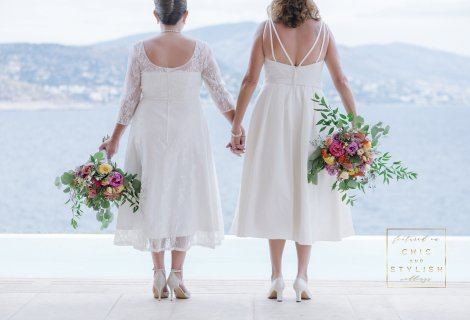 Wedding Vows for Eternity in Mykonos