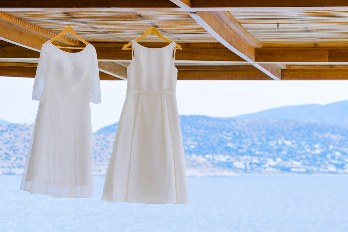 wedding gowns for lesbian couple