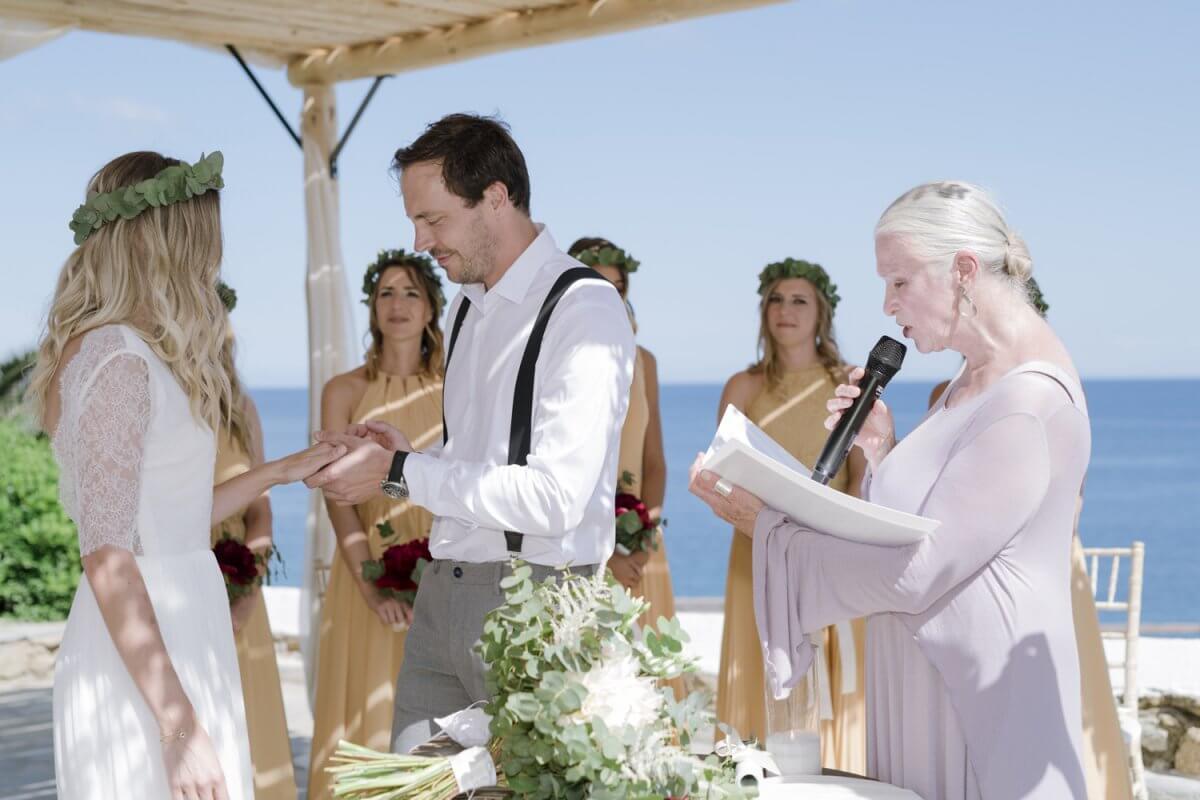 Wedding in Mykonos Greece
